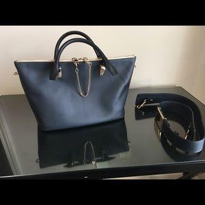 Chloe Baylee Two Tone Medium Handbag